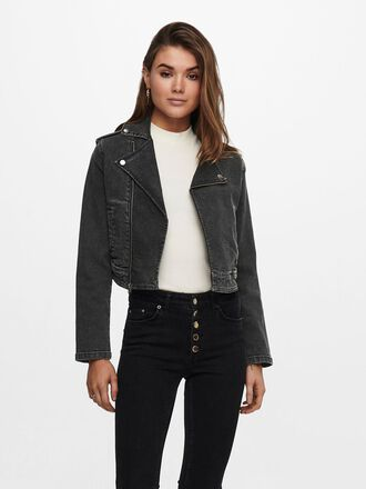BIKER DENIM JACKET
