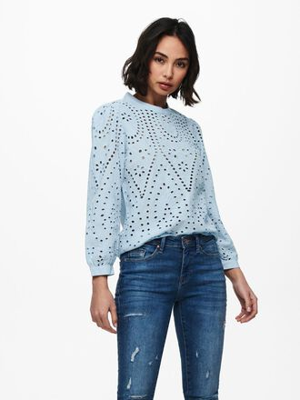 EMBROIDERY ANGLAISE TOP