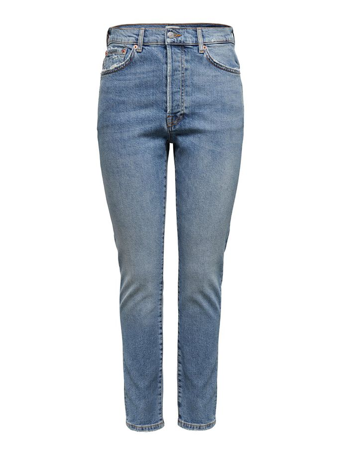 ONLSELENA LIFE REG SLIM FIT JEANS, Medium Blue Denim, large