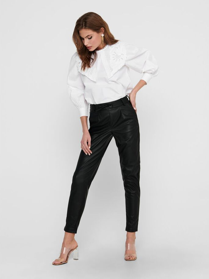 DETAILED TOP, White, large