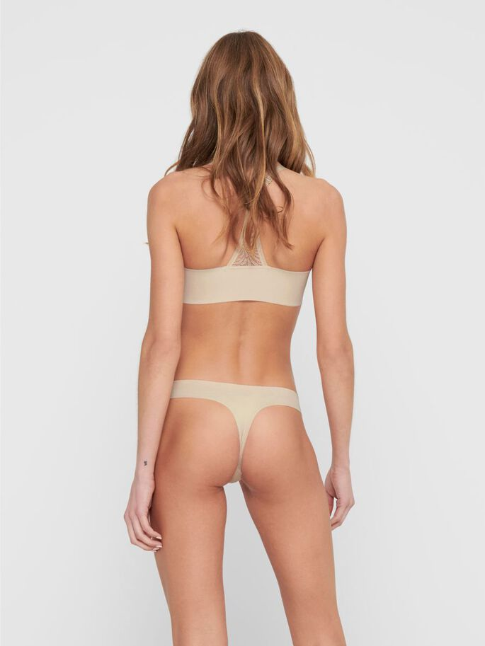 3-PACK SEAMLESS STRING, Nude, large
