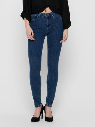 ONLPOWER MID PUSH UP SKINNY FIT JEANS