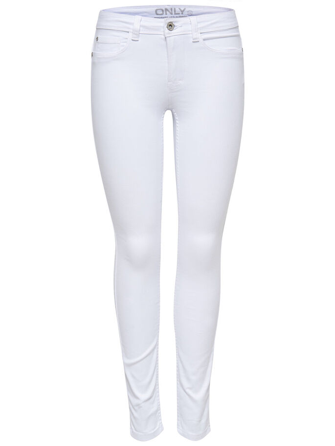 Ultimate soft reg. white skinny fit jeans   ONLY