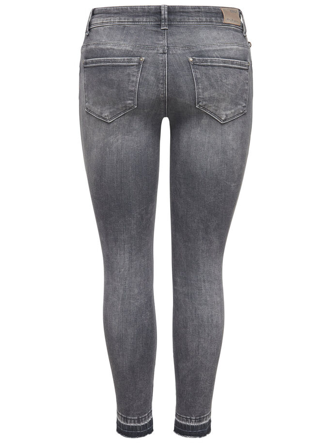 CARMEN REG ANKLE JEANS SKINNY FIT, Medium Grey Denim, large