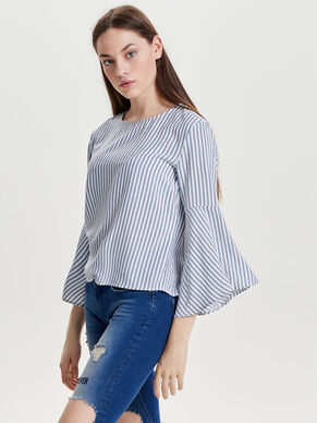 FLARED 3/4 SLEEVED TOP