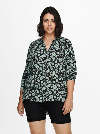 CURVY PRINTED SHIRT