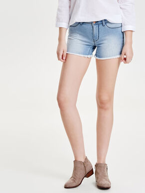 SKYLAR LIGHT BLUE DENIMSHORTS