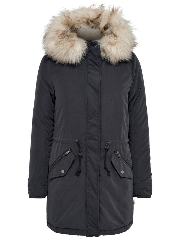 LANGER PARKA, Blue Graphite, large