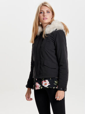 SHORT PARKA COAT