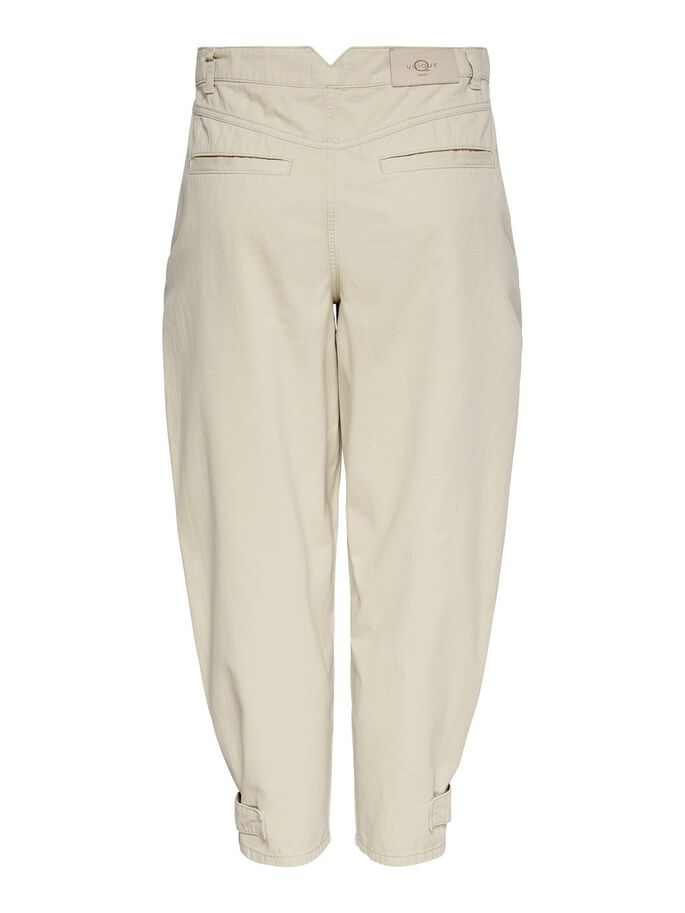 LOOSE FITTED CHINOS, Oyster Gray, large