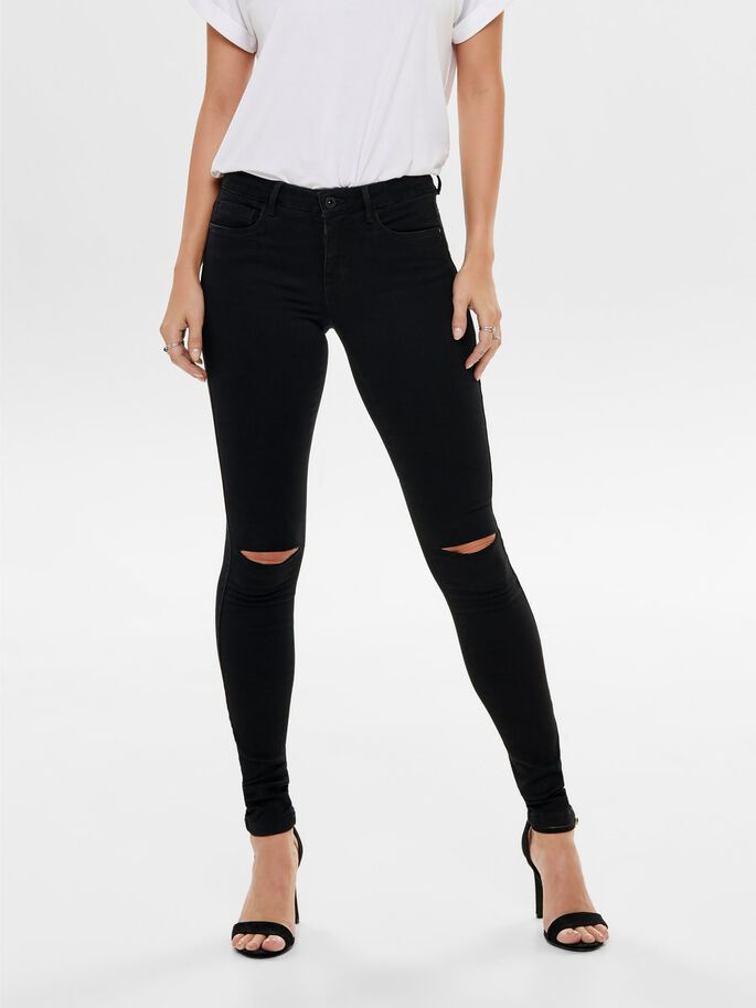 ROYAL REG SKINNY FIT-JEANS, Black, large
