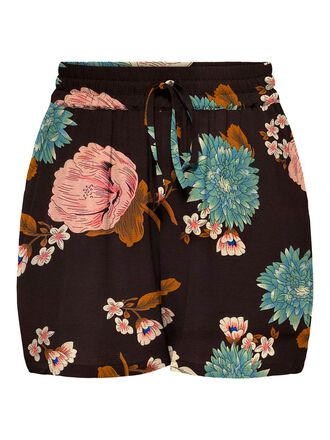 CURVY PRINTED SHORTS