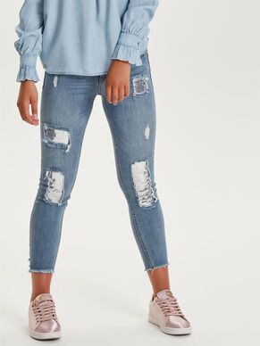CARMEN REG CROP SEQUINS SKINNY FIT JEANS