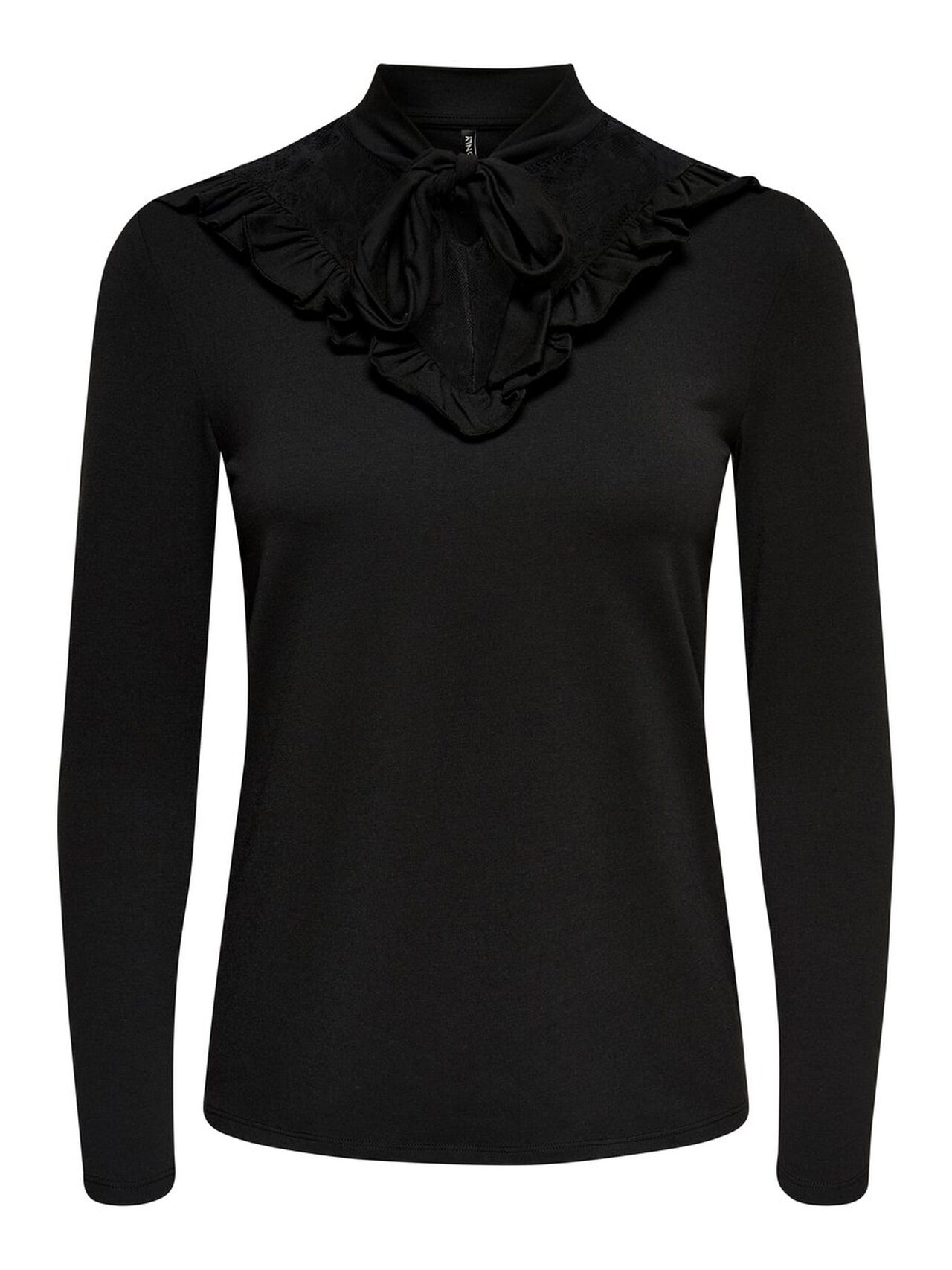 ONLY Detailed Long Sleeved Top Women Black