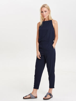 SLEEVELESS ANKLE JUMPSUIT