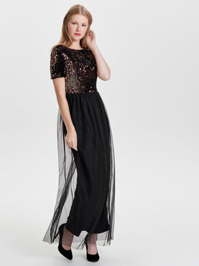 DETAILED MAXI DRESS