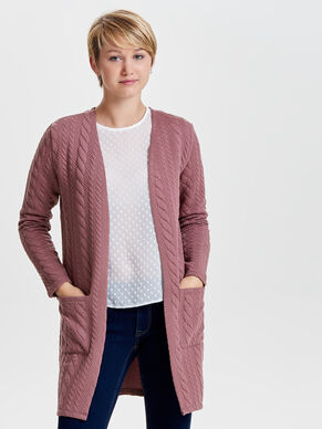 7/8-LANGE STRICKJACKE