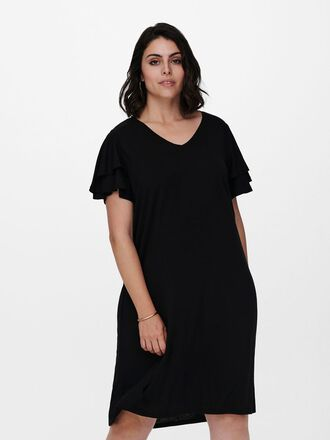 CURVY LOOSE FITTED DRESS