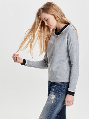 LONG SLEEVED SWEATSHIRT