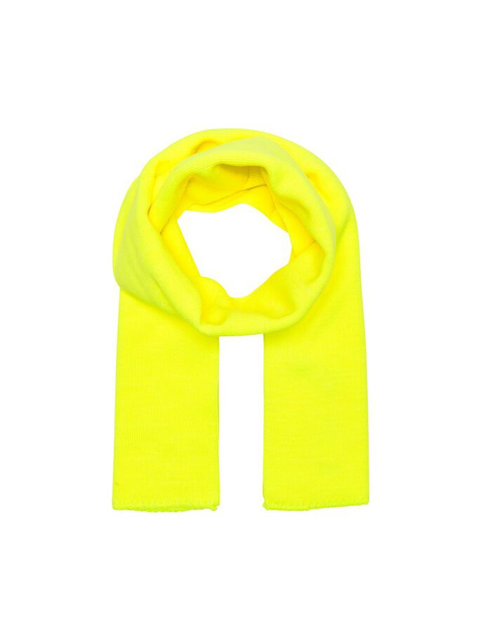 EINFARBIGER SCHAL, Safety Yellow, large