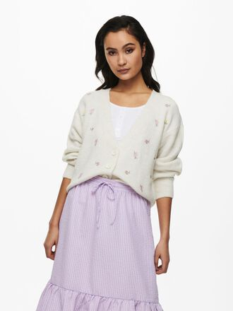 EMBROIDERY KNITTED CARDIGAN