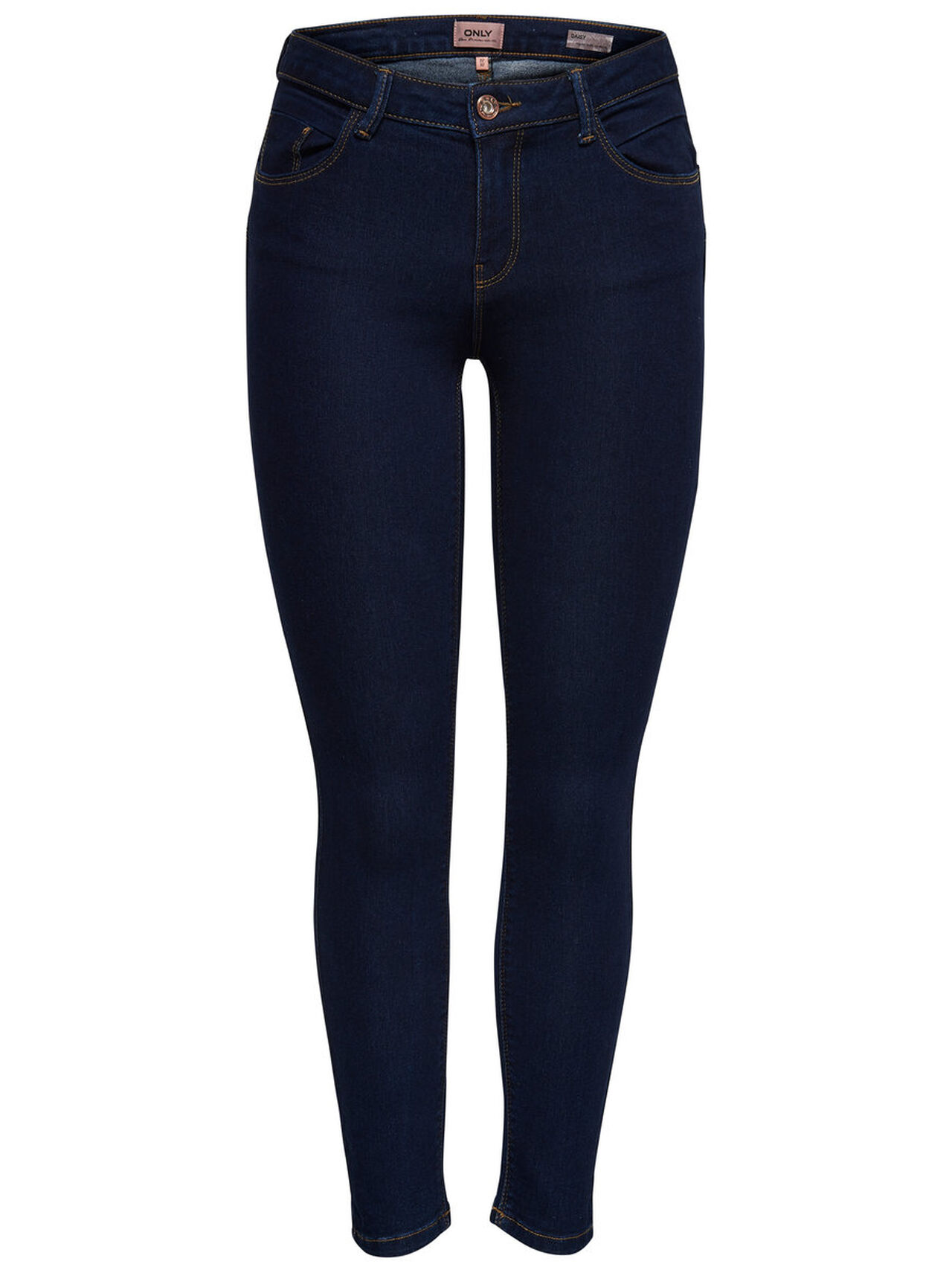 ONLY Daisy Reg Push Up Ankle Skinny Fit Jeans Women Blue