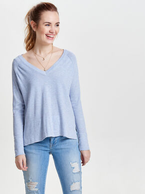 AMPLE PULL EN MAILLE