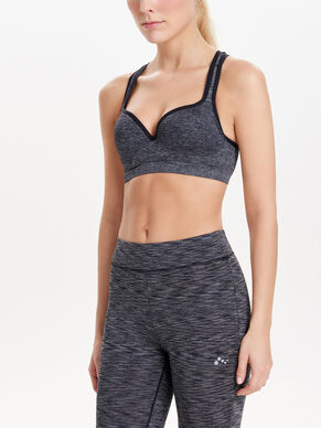 SEAMLESS PADDED SPORTS BRA
