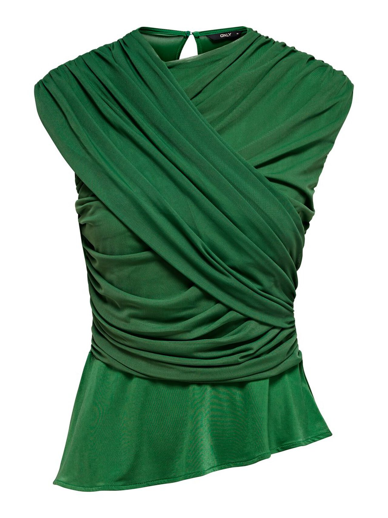 ONLY Detailed Top Women Green