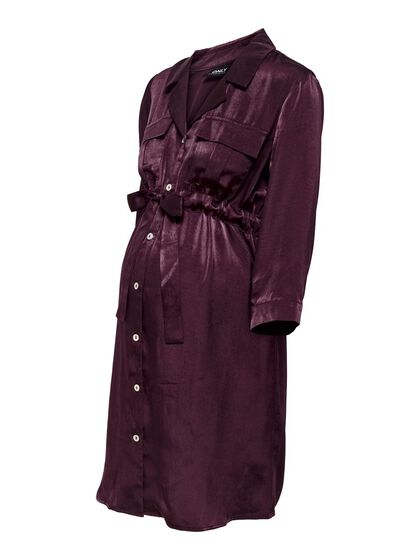 LOOSE FITTED SHIRT DRESS