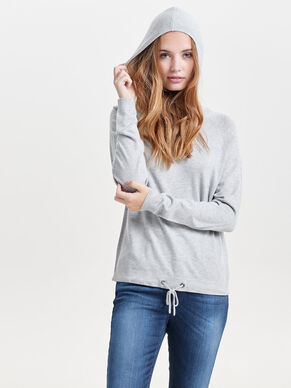 MAILLE SWEAT À CAPUCHE