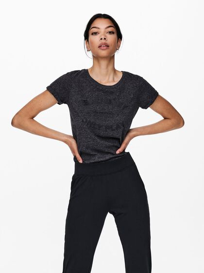 LOOSE FITTED SPORTS T-SHIRT