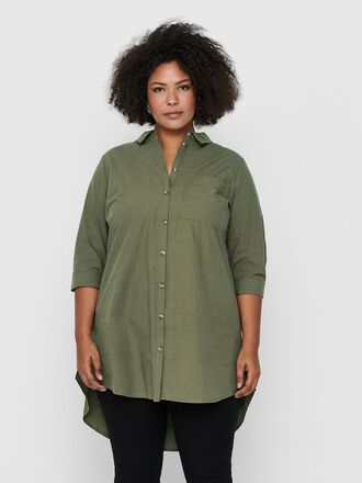 CURVY LONG SHIRT