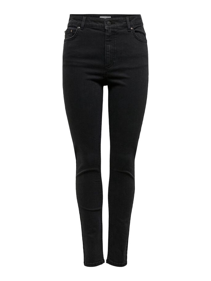 ONL X-HIGH JEAN SKINNY, Black Denim, large