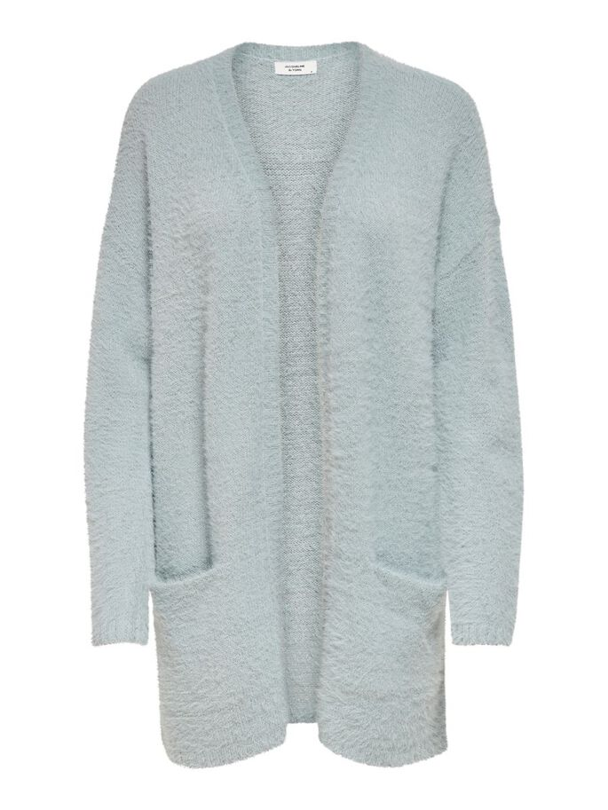 LONG KNITTED CARDIGAN, Abyss, large