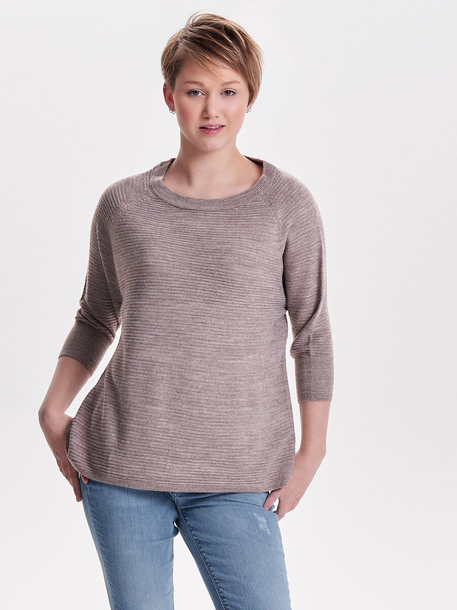 Lange sweater jurk dames