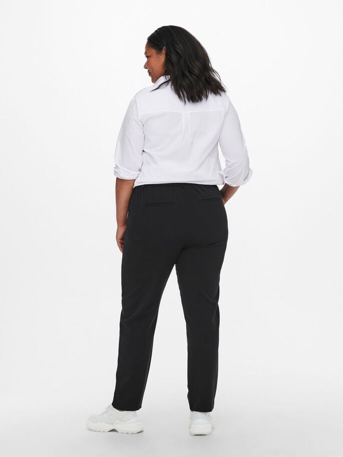 CURVY CLASSIC TROUSERS, Black, large