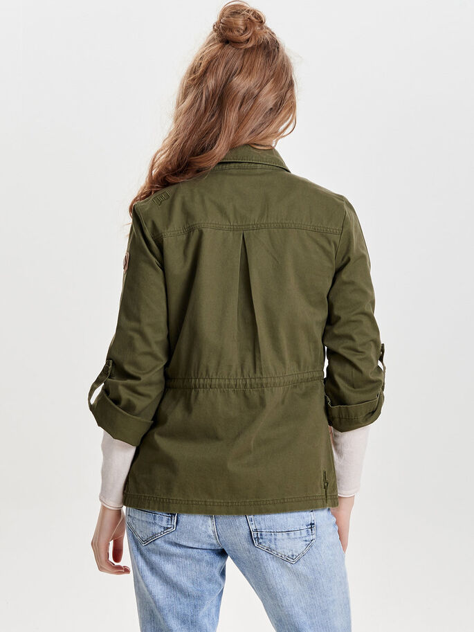 DETAILED JACKET, Ivy Green, large