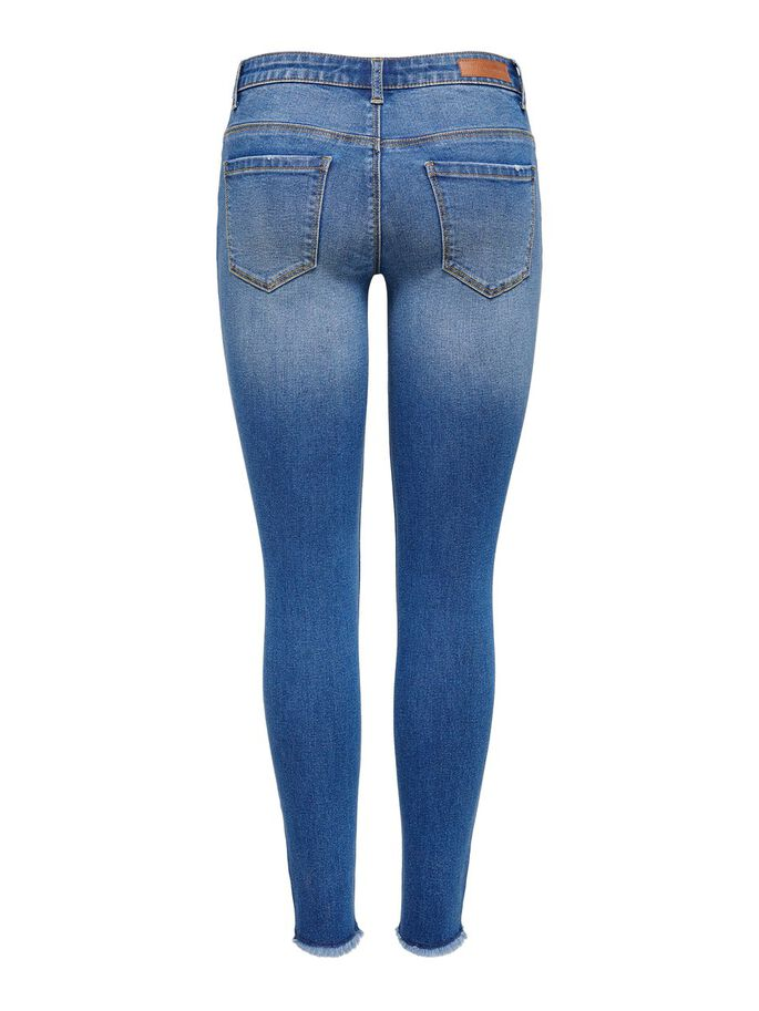 JDYSONJA LIFE REG ANKLE SKINNY FIT JEANS, Medium Blue Denim, large