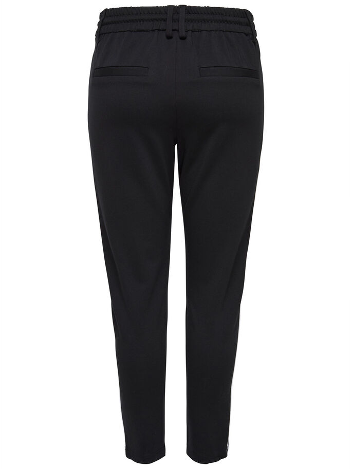 POPTRASH TROUSERS, Black, large