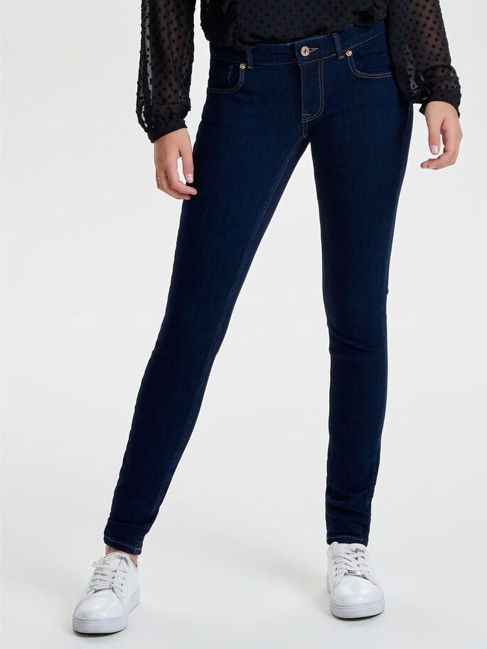 37e9984dc0 Dylan low push up skinny fit jeans