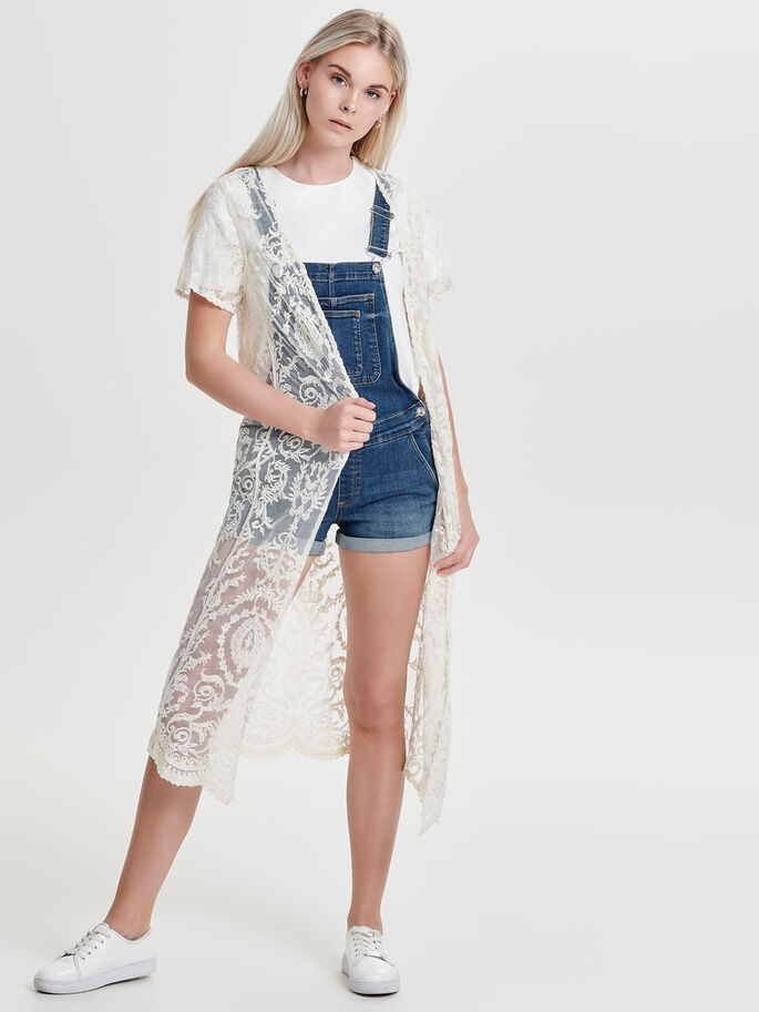 129fbccd6ebfc9 Long lace cardigan | ONLY