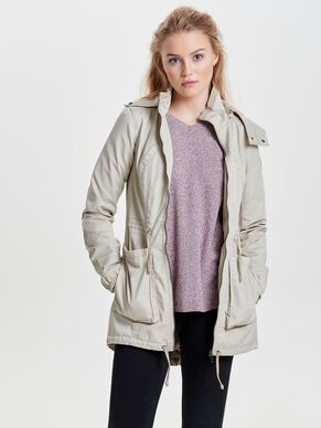 CANVAS PARKA COAT