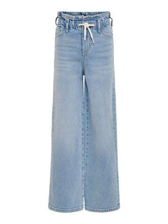KONMIE WIDE PAPERBAG FLARED JEANS