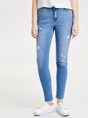 STUDIO2 HIGH WAIST ANKLE SLIM FIT JEANS