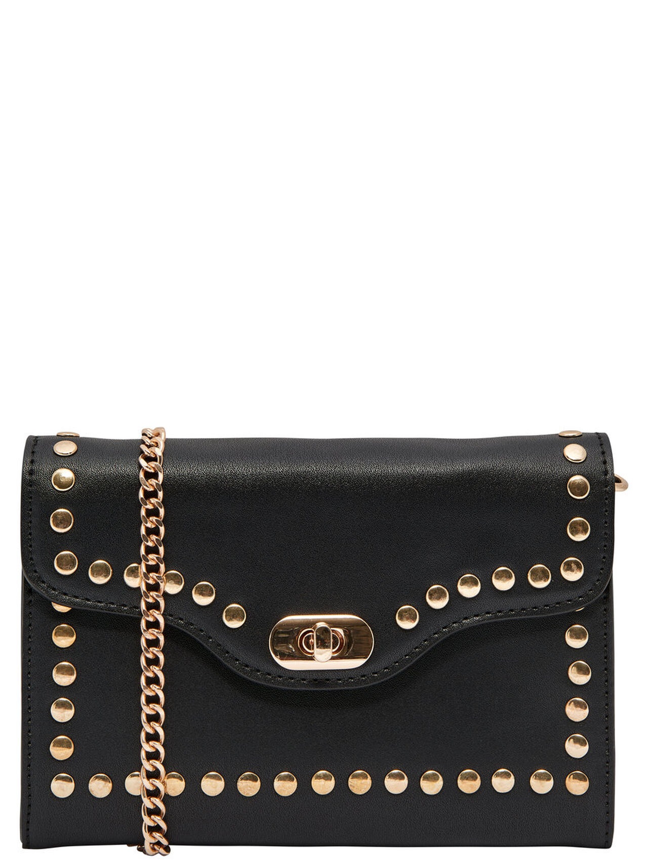 ONLY Stud Detail Crossbody Bag Women Black