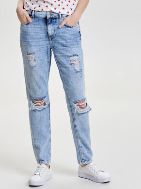 LIMA DESTROYED BOYFRIEND JEANS