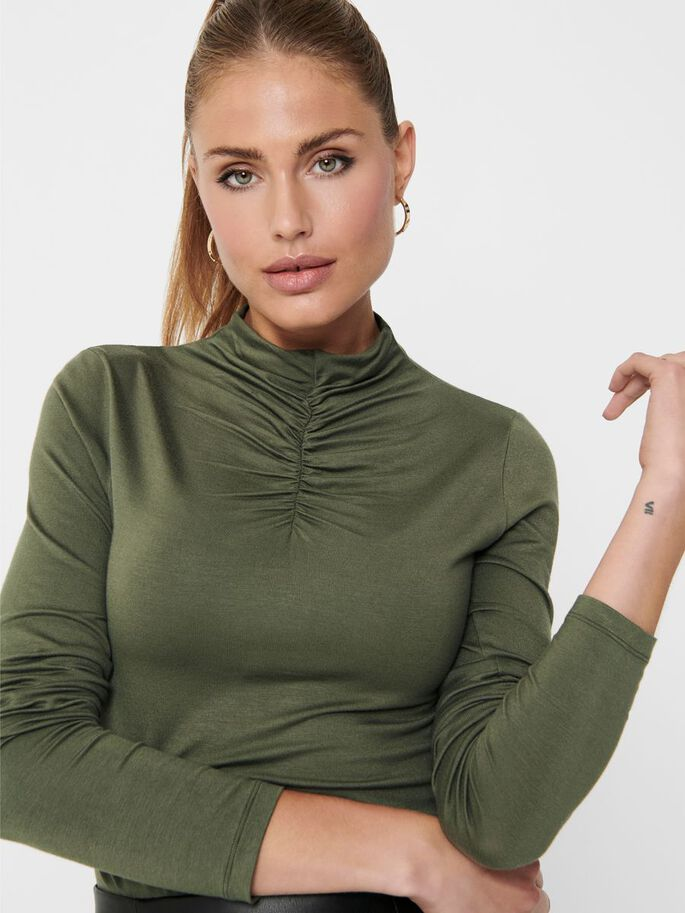HIGH NECK TOP, Kalamata, large