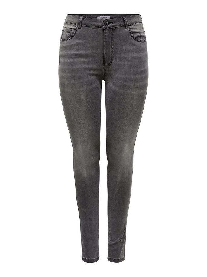 CURVY CARAUGUSTA LIFE HW SKINNY FIT JEANS, Dark Grey Denim, large