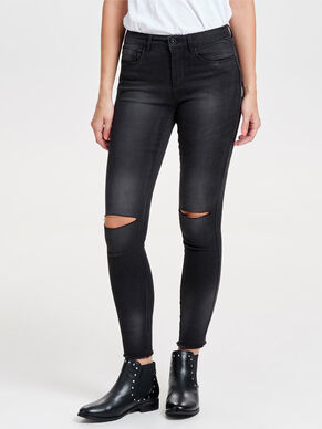 ROYAL REG ANKLE KNEECUT SKINNY FIT JEANS